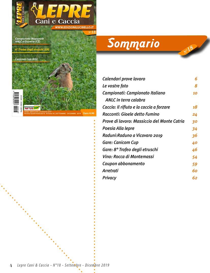 Enci Calendario Prove.Lepre Cani E Caccia Edizioni Lucibello